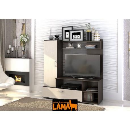 Лима - современная стенка под телевизор в гостиную фото