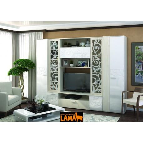 Афина - современная стенка в гостиную фото